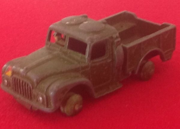 ORIGINAL DINKY TOYS 641 FOR RESTORATION ARMY - 1 TON CARGO TRUCK